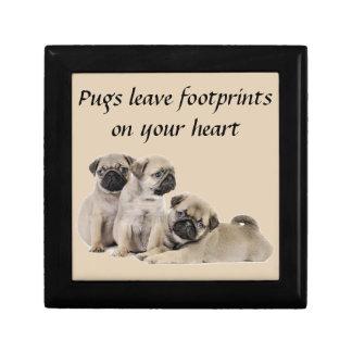 Pug Puppy Dogs Jewelry Box