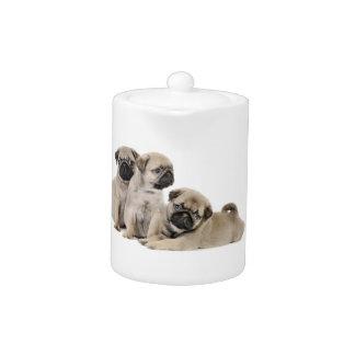 Pug Puppy Dogs Teapot