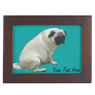 Pug Puppy Memory Box