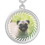 Pug Puppy Necklace