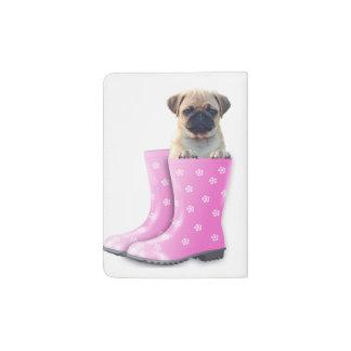 Pug Puppy Passport Holder