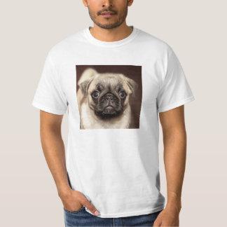 Pug Puppy Photo T-Shirt