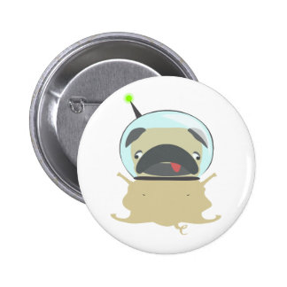 Pug Puppy Tshirt Print Personalized Graphic Buttons
