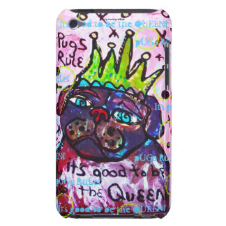 Pug Queen iPod Touch Cases