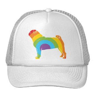 Pug Rainbow Connection! Trucker Hat
