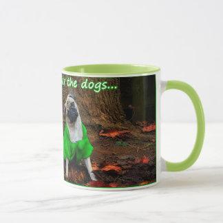 Pug - Real fur is for the dogs... Mug
