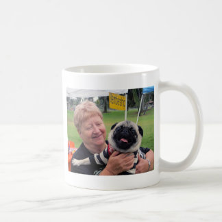 Pug Rescue Halloween Party, 2012 Classic White Coffee Mug