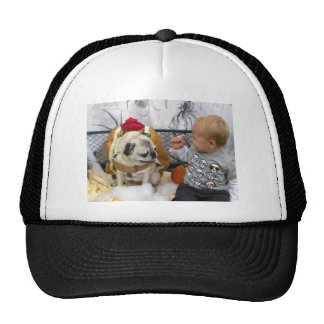 Pug Rescue Halloween Party 2012 Photo Tees Trucker Hat