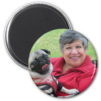 Pug Rescue Halloween Party Buttons and Magnets