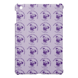 Pug Rescue Logo Purple iPad Mini Cases