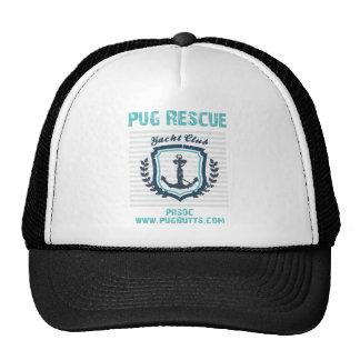 Pug Rescue of San Diego Co Yacht Club Trucker Hat
