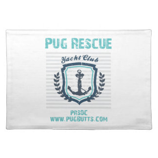 Pug Rescue of San Diego Co. Yacht Club Placemat