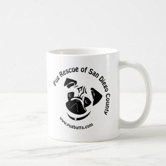 Pug Rescue of San Diego County Logo Coffee Mug