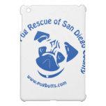 Pug Rescue San Diego County Logo - Blue iPad Mini Covers