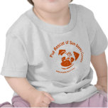 Pug Rescue San Diego Orange Logo T-shirts