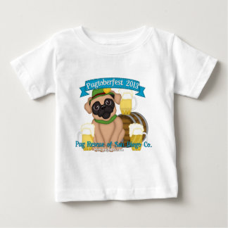 Pug Rescue SD Pugtoberfest 2013 #1. Baby T-Shirt