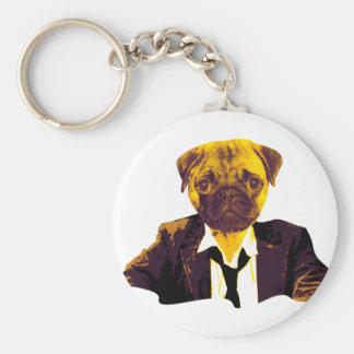 Pug RK work Keychain