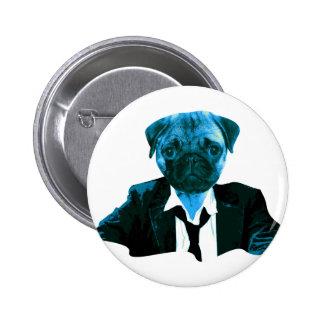 Pug RK work Pinback Button