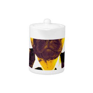 Pug RK work Teapot