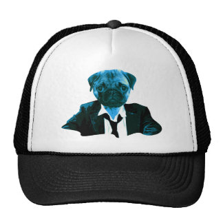 Pug RK work Trucker Hat