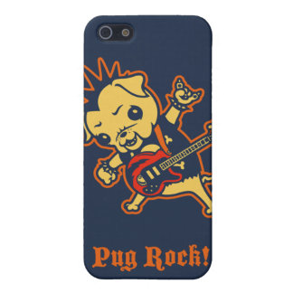 Pug Rock -color iPhone 5/5S Covers