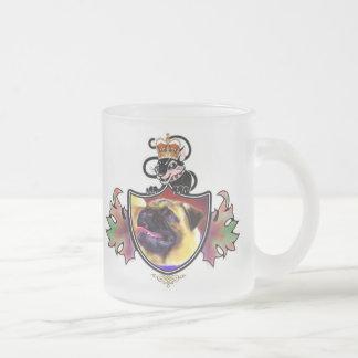 Pug Royal Crest Mug