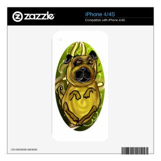 Pug Rug iPhone 4 Skins