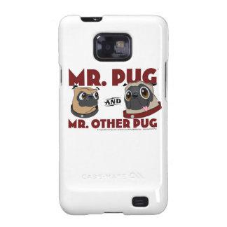 Pug Samsung galaxy S II Samsung Galaxy SII Cover