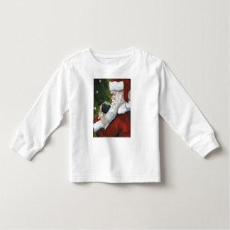 Pug & Santa Dog Art Shirt