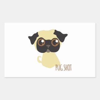 Pug Shot Stickers