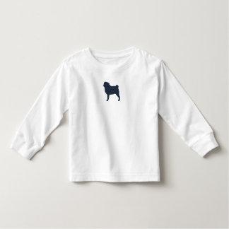 Pug Silhouette Toddler T-shirt