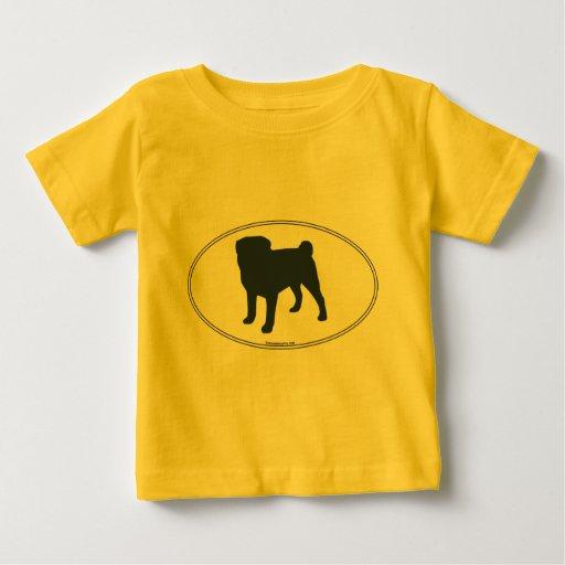 Pug Silhouette Tshirt