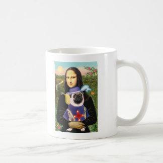 Pug (Sir) - Mona Lisa Coffee Mug