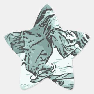 Pug Skater Sticker