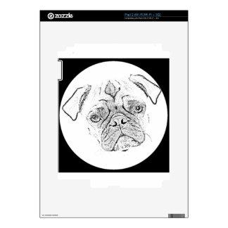 """""""Pug"""" iPad 2 Skins"""