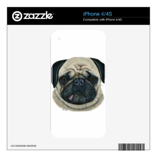 Pug Skins For iPhone 4S