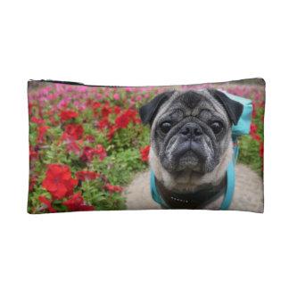 Pug Small Cosmetic Bag