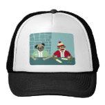 Pug & Sock Monkey Mesh Hat