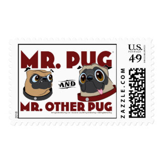 Pug stamp 1