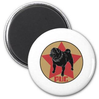 Pug Star Magnet