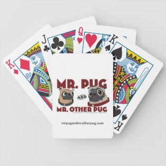 Pug Stuff Bicycle Playing Cards