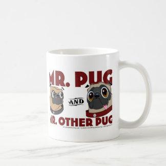 Pug Stuff Classic White Coffee Mug