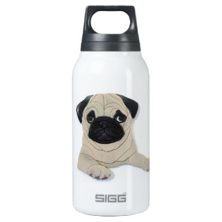 Pug Thermos Bottle