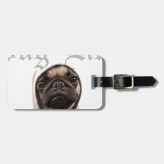 Pug Travel Bag Tag