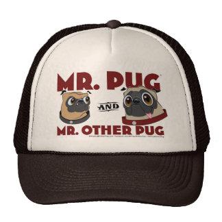 Pug Trucker Hats