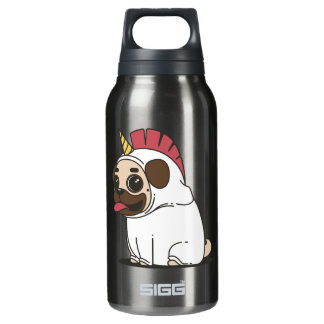 PUG UNICORN INSULATED WATER BOTTLE