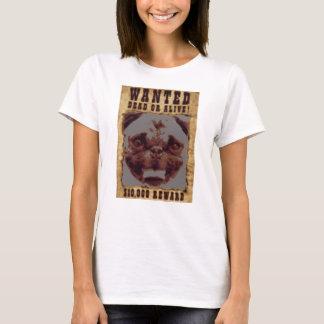 Pug Wanted Poster Women's T-Shirt