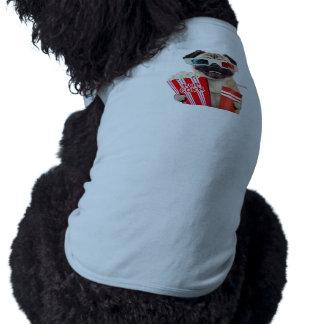 Pug watching a movie T-Shirt