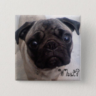 Pug What? Button