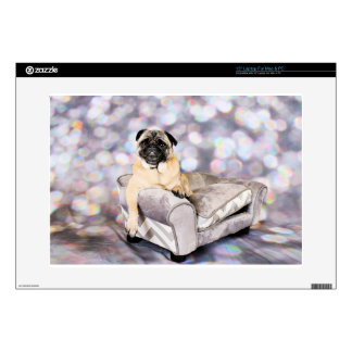 "Pug - Willy 15"" Laptop Skin"